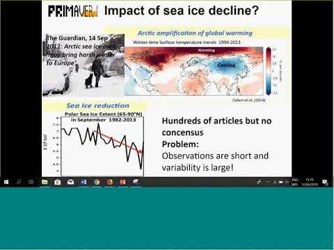 Embedded thumbnail for UIP PRIMAVERA sea ice webinar 20190612